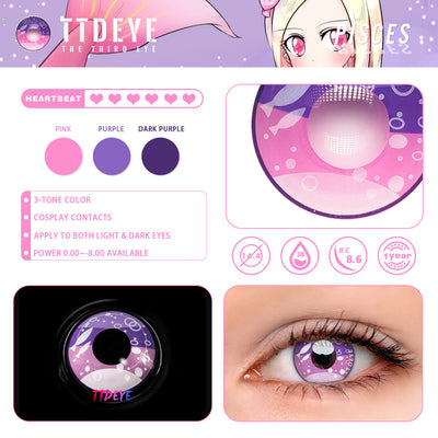TTDeye Pisces Colored Contact Lenses