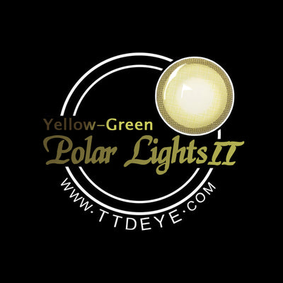 TTDeye Polar Lights Yellow-Green II Colored Contact Lenses
