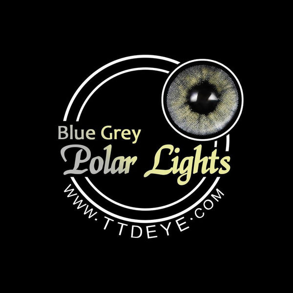 TTDeye Polar Lights Blue-Grey Colored Contact Lenses