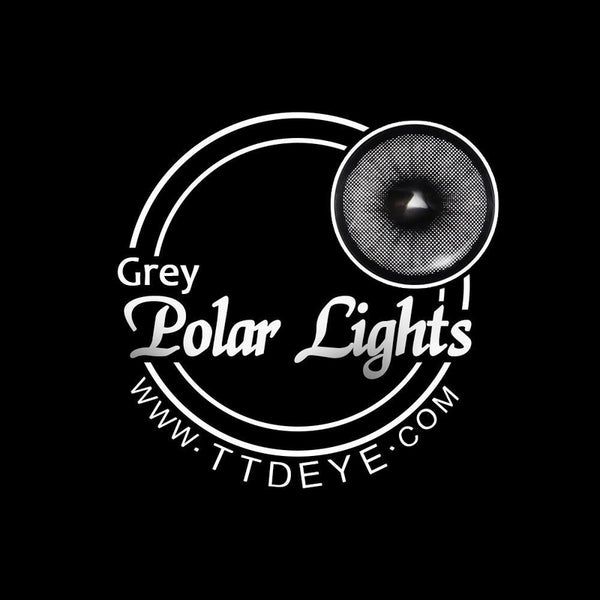 TTDeye Polar Lights Grey Colored Contact Lenses