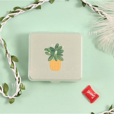 TTDeye Potted Plant 2-in-1 Lens Case