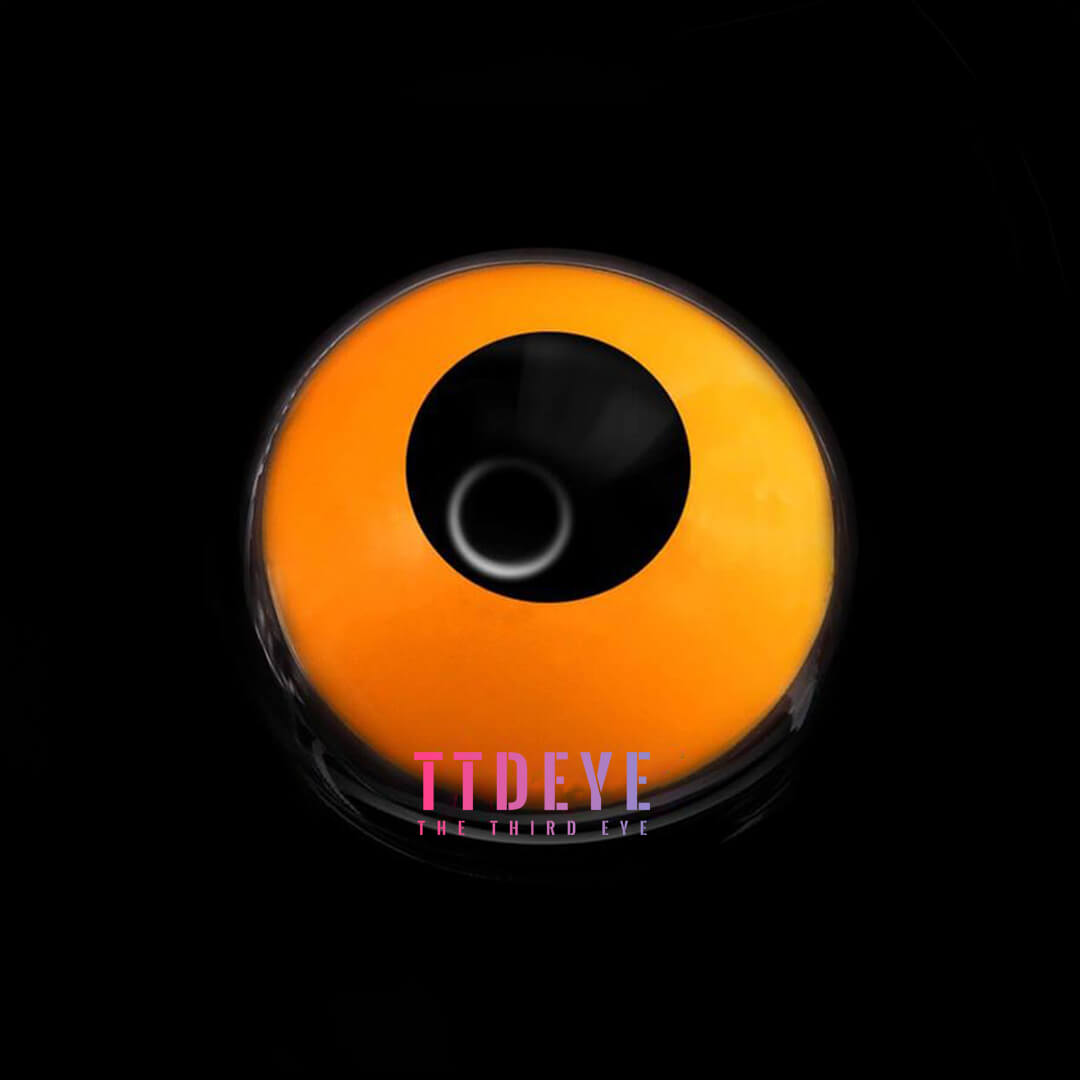 TTDeye Pumpkin Orange Colored Contact Lenses