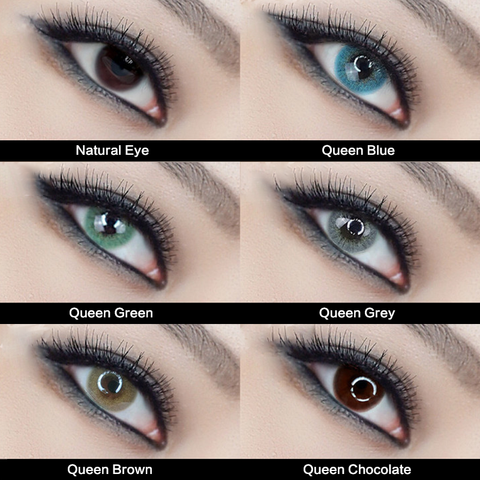 TTDeye Queen Series Contact Lens Kit