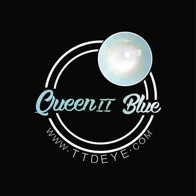TTDeye Queen Blue II Colored Contact Lenses