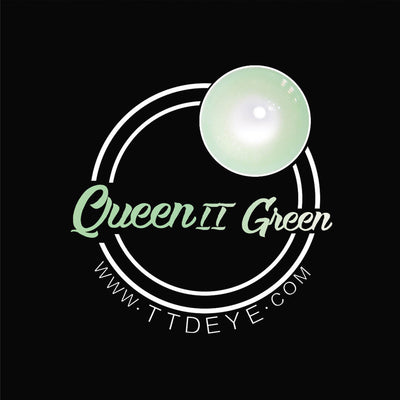 TTDeye Queen Green II Colored Contact Lenses