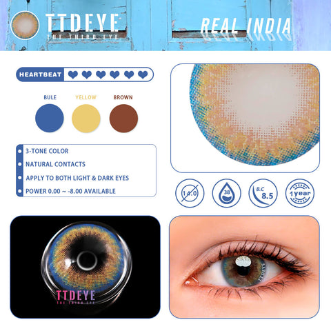 Real India Colored Contact Lenses