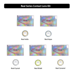 TTDeye Real Series Contact Lens Kit