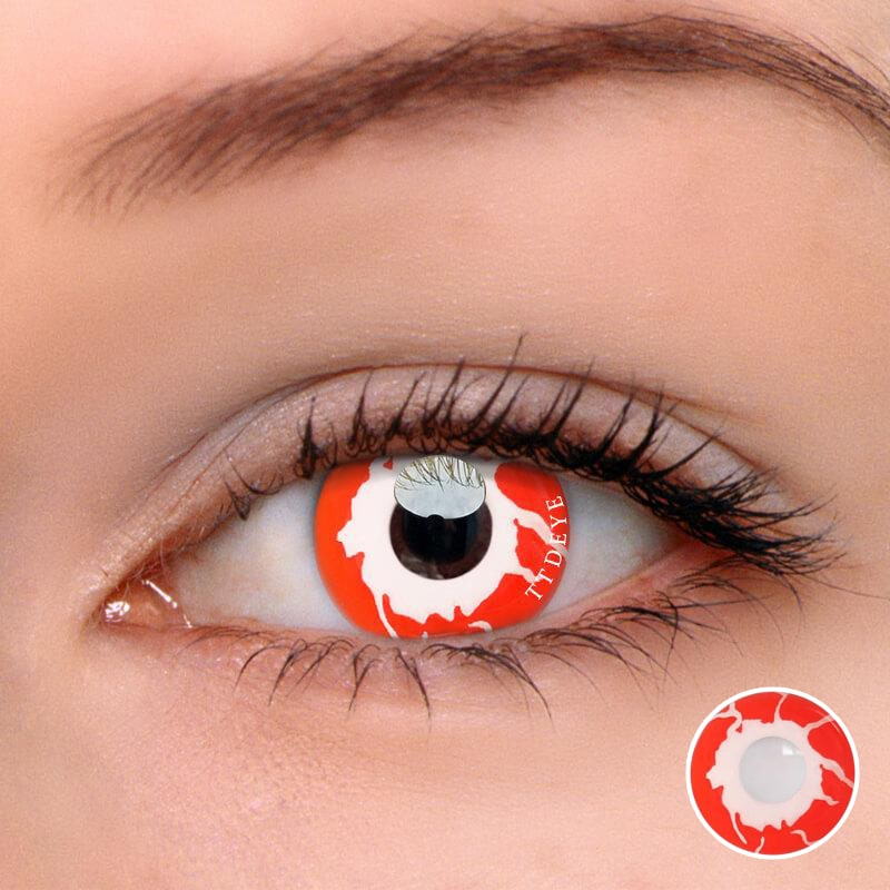 TTDeye Reddish Dream Red Colored Contact Lenses