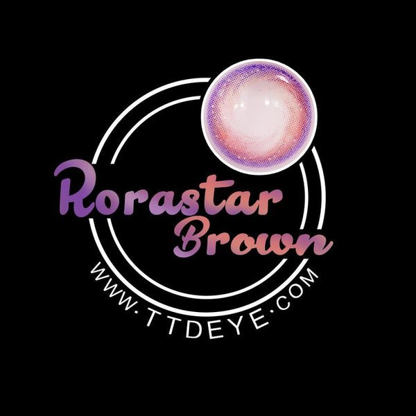 TTDeye Rorastar Brown Colored Contact Lenses