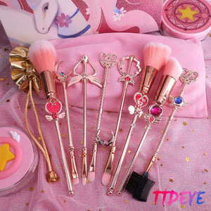 SailorMoon Makeup Brushes Set