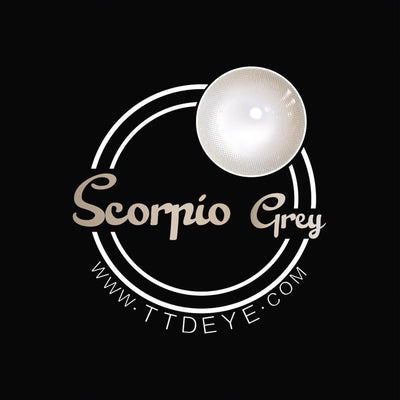 TTDeye Scorpio Grey Colored Contact Lenses