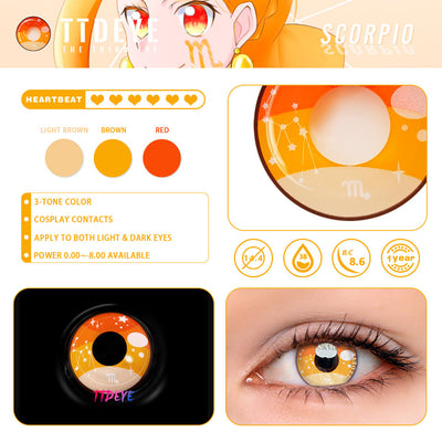 TTDeye Scorpio Colored Contact Lenses