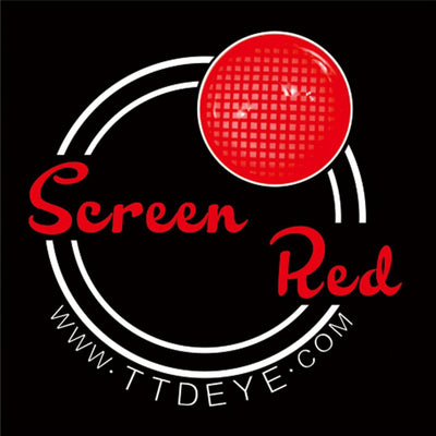 TTDeye Screen Red Colored Contact Lenses
