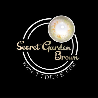 TTDeye Secret Garden Brown Colored Contact Lenses