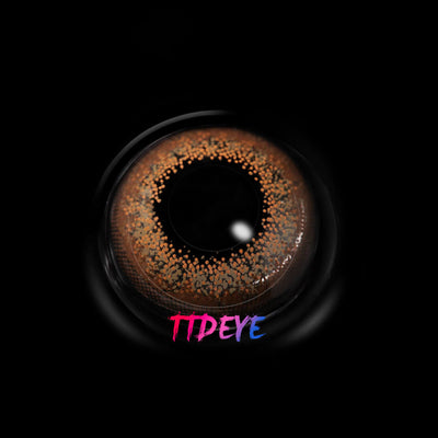 TTDeye Shine Brown Colored Contact Lenses