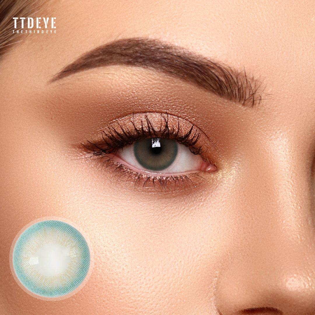 REAL x TTDeye Silk Green Colored Contact Lenses