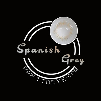 TTDeye Spanish Grey Colored Contact Lenses