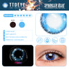 TTDeye Sparkler Blue Colored Contact Lenses