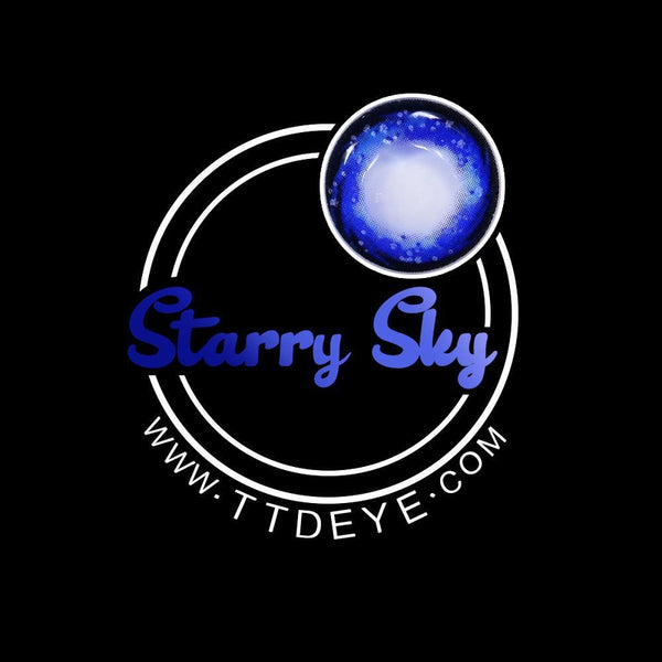 TTDeye Starry Sky Colored Contact Lenses