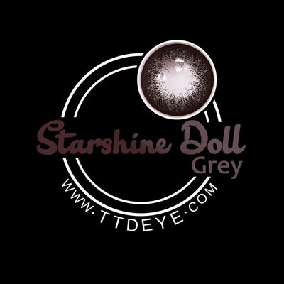 TTDeye Starshine Doll Grey Colored Contact Lenses
