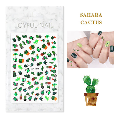 TTDeye Summer Memories Nail Stickers