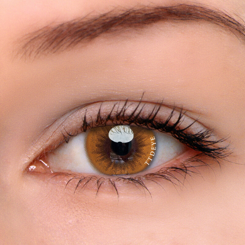 TTDeye Sunrise Orange Colored Contact Lenses