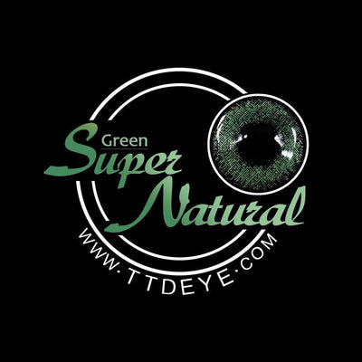 TTDeye Super Natural Green Colored Contact Lenses