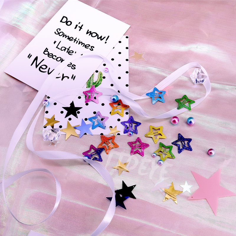 Sweet Glitzy Star Hairpin
