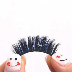 TTDeye Blue False Eyelashes