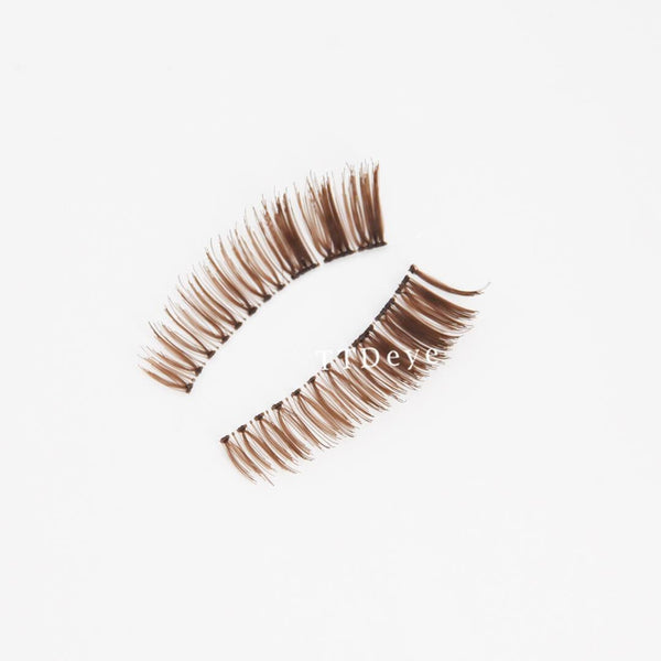 TTDeye Brown False Eyelashes