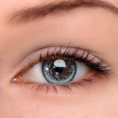 TTDeye Silver Angel Wing Colored Contact Lenses