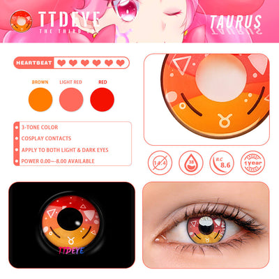 TTDeye Taurus Colored Contact Lenses