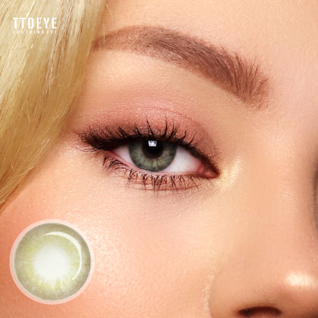 TTDeye Taylor Green Colored Contact Lenses