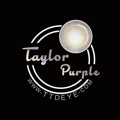 TTDeye Taylor Purple Colored Contact Lenses