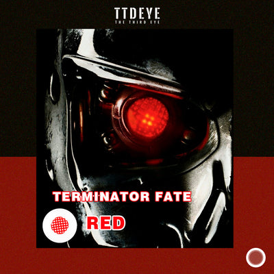 TTDeye Terminator Fate Red Colored Contact Lenses
