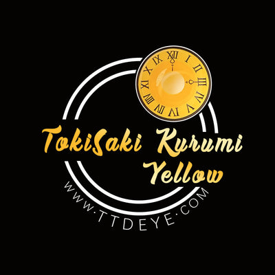TTDeye Tokisaki Kurumi Yellow Colored Contact Lenses
