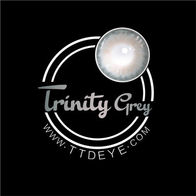 TTDeye Trinity Grey Colored Contact Lenses
