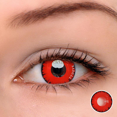 TTDeye Twilight Vampire Red Colored Contact Lenses