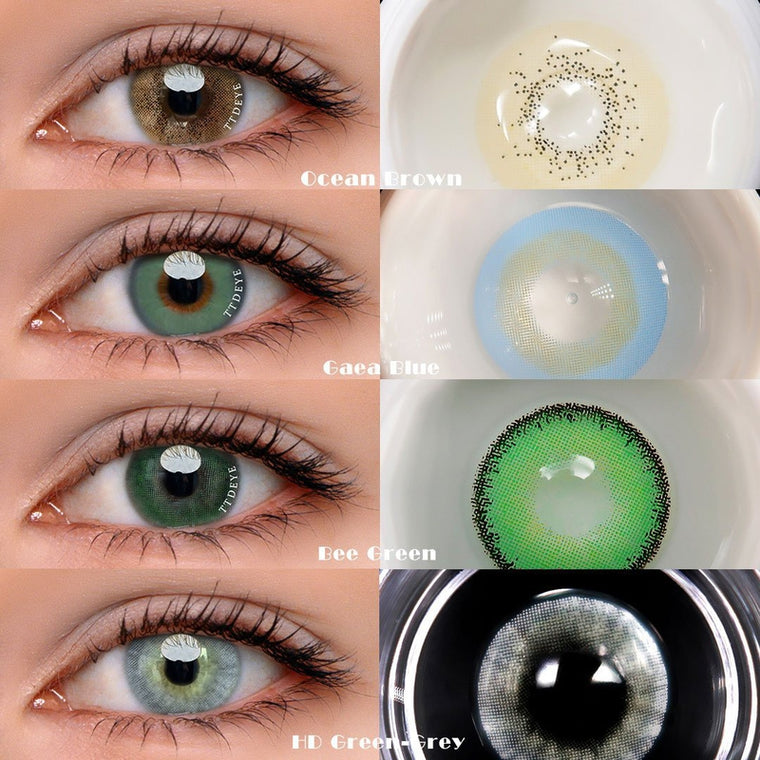TTDeye Variety Queen Contact Lens Kit
