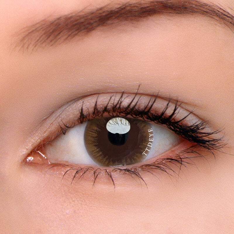 TTDeye Vava Brown Colored Contact Lenses