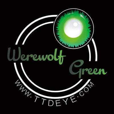 TTDeye Werewolf Green Colored Contact Lenses