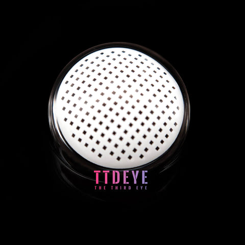 TTDeye Gridding White Colored Contact Lenses