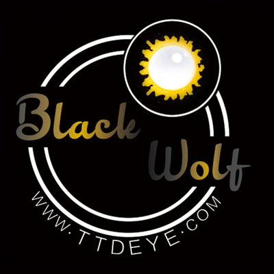 TTDeye Black Wolf Colored Contact Lenses