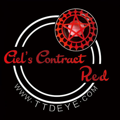 TTDeye Ciel's Contract Red Colored Contact Lenses