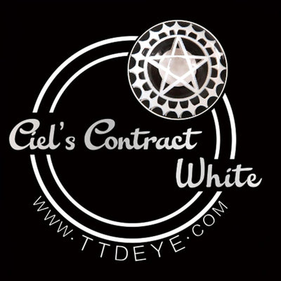 TTDeye Ciel's Contract White Colored Contact Lenses