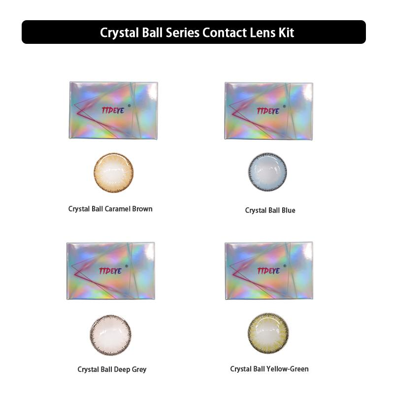 TTDeye Crystal Ball Series Contact Lens Kit