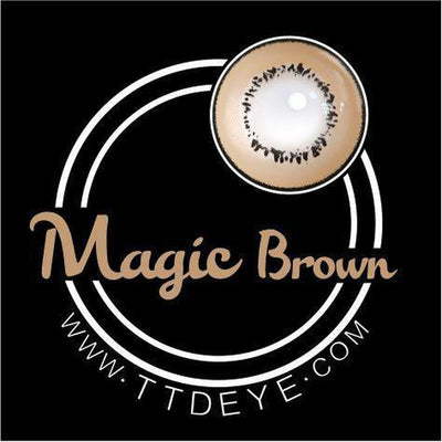 TTDeye Magic Brown Colored Contact Lenses