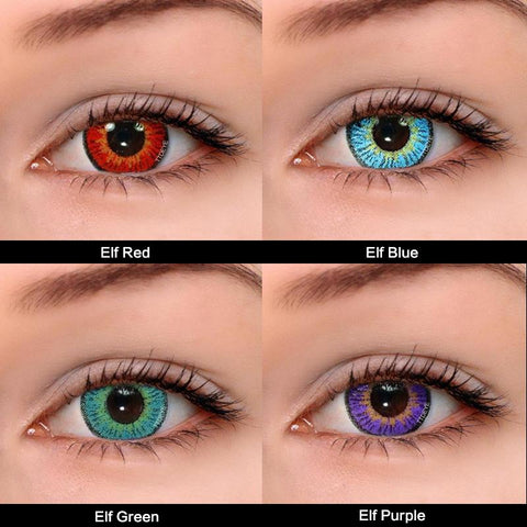 TTDeye Elf Series Contact Lens Kit