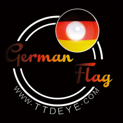 TTDeye German Flag Colored Contact Lenses