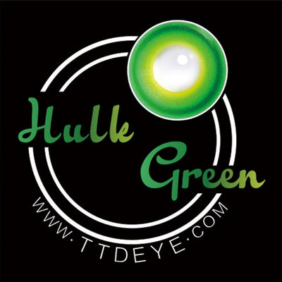 TTDeye Hulk Green Colored Contact Lenses